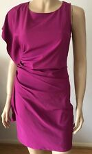 AX PARIS Pink Single Kimono Sleeve Frilly Evening Party Club Dress Size 8
