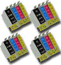 16 T1006 NON-OEM Cartuchos de tinta para la impresora Epson T1001-4 Stylus SX515W SX600FW