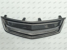 Carbon Fiber Front Mesh Grill Grille for 2009-2013 2010 2012 2011 Acura  TSX