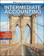 Intermediate Accounting by Jerry J. Weygandt, Donald E. Kieso and Terry D. Warfield (2019, Ringbound / Ringbound)