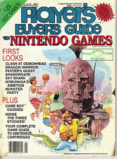 PLAYER'S BUYER'S GUIDE to NINTENDO GAMES Magazine 1989 - Vol.2 No.5