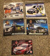 5 David Reutimann Nascar Nextel Cup Series Postcard Lot (Mwr Toyota)