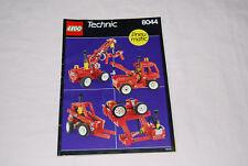 Lego Technic 8044 Pneumatic Manual No Lego Bricks Instructions