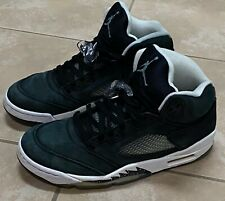 Nike Air Jordan 5 V Men's Retro OG Oreo Black Suede White 136027-035 size 11