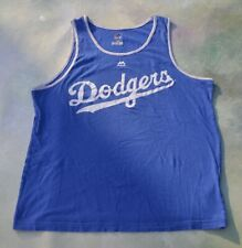 Vintage Majestic MLB Los Angeles Dodgers Sleeveless Shirt Size L.