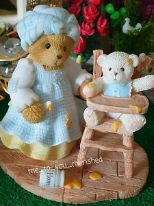 Cherished Teddies Rare Charlotte and Clay.FREE delivery UK