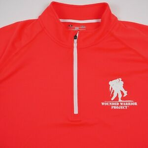 Under Armour Wounded Warrior Project Quarter Zip Active Pullover Women's Size L
