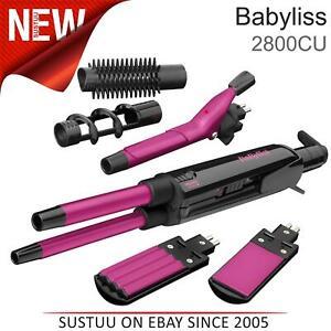 BaByliss Pro Ceramic 12 in 1 Hair Multi Styler Kit│Curler+Straightener+Crimper