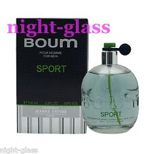 "EAU DE TOILETTE FOR MEN-JEANNE ARTHES ""BOUM SPORT"" MADE IN FRANCE-100 ML-NEUF"
