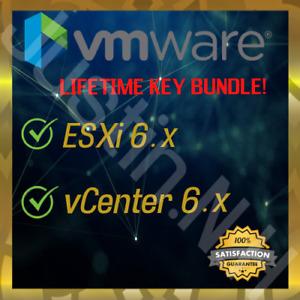 VMware ESXI 6 Enterprise Plus + vCenter - Unlimited
