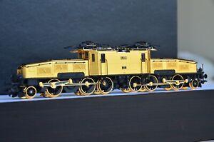 Marklin 32560 SBB Ce 6/8 II Crocodile 100-Year 24k Gold Ed. Digital Sound RARE