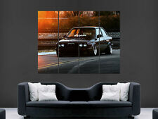 BMW CAR E30 VINTAGE  ART WALL LARGE IMAGE GIANT POSTER