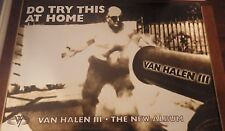 """40x60"""" HUGE SUBWAY POSTER~Van Halen III 1998 Do Try This at Home Cannonball Man~"""