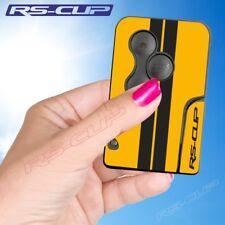 0025 Sticker carte clé logo noir RENAULT SPORT aufkleber Clio 3 Megane 2 Scenic
