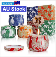 Scented Candles Gift Natural Soy Wax Travel Tin Aromatherapy Candle Portable AU