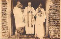 CPA CONGO MISSIONNAIRES D'AFRIQUE PERES BLANCS BAPTEME A LULENGA
