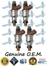 Reman OEM Ford Nikki 4x Fuel Injectors INP-482 Aspire 1.3L
