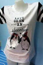 G91:New Penguin by Munsingwear Cotton Tops Shirt  for Women-XL