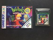 Nintendo Gameboy GB GBC GBA SP -  Wendy Every Witch Way + Manual Notice PAL EUR