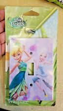 Girls Disney Fairies Tinkerbell Light Switch Plate Wall Plate Single Toggle New