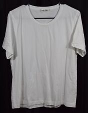 Alex Mill Men's Short Sleeve Crew Neck T-Shirt White Size XL