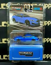 2020 Tarmac Works Global64 Ford Mustang Shelby Gt350R Blue T64G-011-Bl 1:64