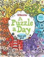 A Puzzle a Day (Activity Pads) by Phillip Clarke | Paperback Book | 978140956452