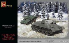 PEGASUS  1/72 T34/76 Soviet Battle Tank (2) (Snap)  PGS7661