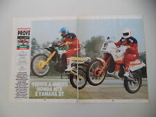 - PROVA MOTOCICLISMO 1987 HONDA MTX R BEACH e YAMAHA DT TENERE' 125 CHESTERFIELD