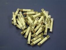 "25A 250V Slow Blow Fuse Cartridge Style Ceramic3AG 1/4"" X 1-1/4"" 6.35x32mm QTY=5"