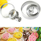 Stainless Steel Round Cake Ring Mold Cookie Cutter Mold Cake Pastry Baking Tools