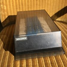 Rolodex Vtg Covered Business Card File Holder Vip 24c Made In Usa See Details