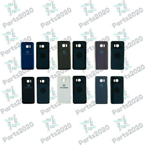 Rear Back Battery Cover For Galaxy S7 & S7 Edge With Adhesive
