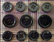 Purple Mother Of Pearl Buttons Set (MOP) For Suit, Blazer, or Sportcoat
