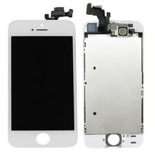Semi Complete LCD Display Touch Screen Digitizer Assembly for iPhone 5S white