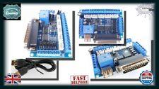 3D Printer 5 Axis Breakout Board + USB Cable - Stepper Motor Driver MACH3 DA013