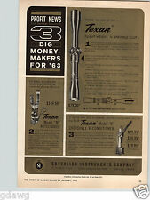 1960 PAPER AD Texan Soverign Instruments Co Rifle Gun Scope Telescope
