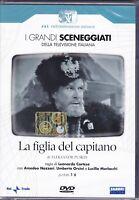 2 Dvd Sceneggiati Rai «LA FIGLIA DEL CAPITANO» con Amedeo Nazzari completa 1965