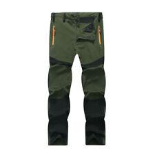 Mens Waterproof Outdoor Hiking Climbing Combat Job Trousers Tactical Long Pants