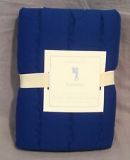 1 Pottery Barn Kids Nautical Blue Branson Standard Sham