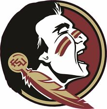 Florida State Seminoles Fsu Vinyl DieCut Sticker Decal Logo Ncaa 4 Stickers