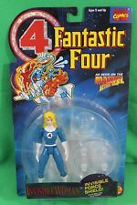 Fantastic Four Animated Invisible Woman with Force Shield Figure New on Card