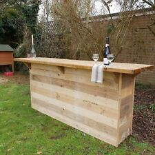Rustic bar for garden, home or commercial use. Designed for you! **Reclaimed**