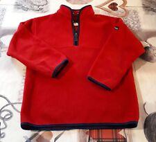 sweat pull rouge garçon DECATHLON - taille 8 ans (125 cm)
