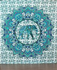 Indian Elephant Wall Hanging Queen Tapestries Hippie Tapestry Beach Throw Decor