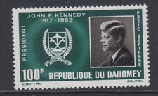 Dahomey 1965 JF Kennedy Sc C30 Complete Mint LIghtly Hinged