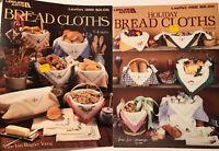 Bread Cloths Cross Stitch Leaflet 889 462 Leisure Arts Charts 18 Designs