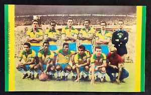 Pelé Brasil World Cup Winners 1958 Empty Album + 24 cards, Pele Brazil, Reprint