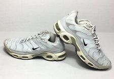2011 Nike Air Max TN White 3M Shoes Women's 7 Used Streetwear Hype Runners