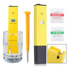 Electric Digital Ph Meter Tester Hydroponics Pen Aquarium Pool Water Test UK